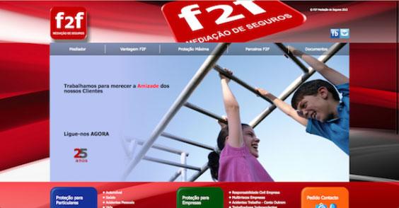 F2F Mediação de Seguros by AWD Agência de Comunicação