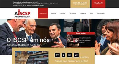 AWD desenvolve novo website para a Alumni ISCSP