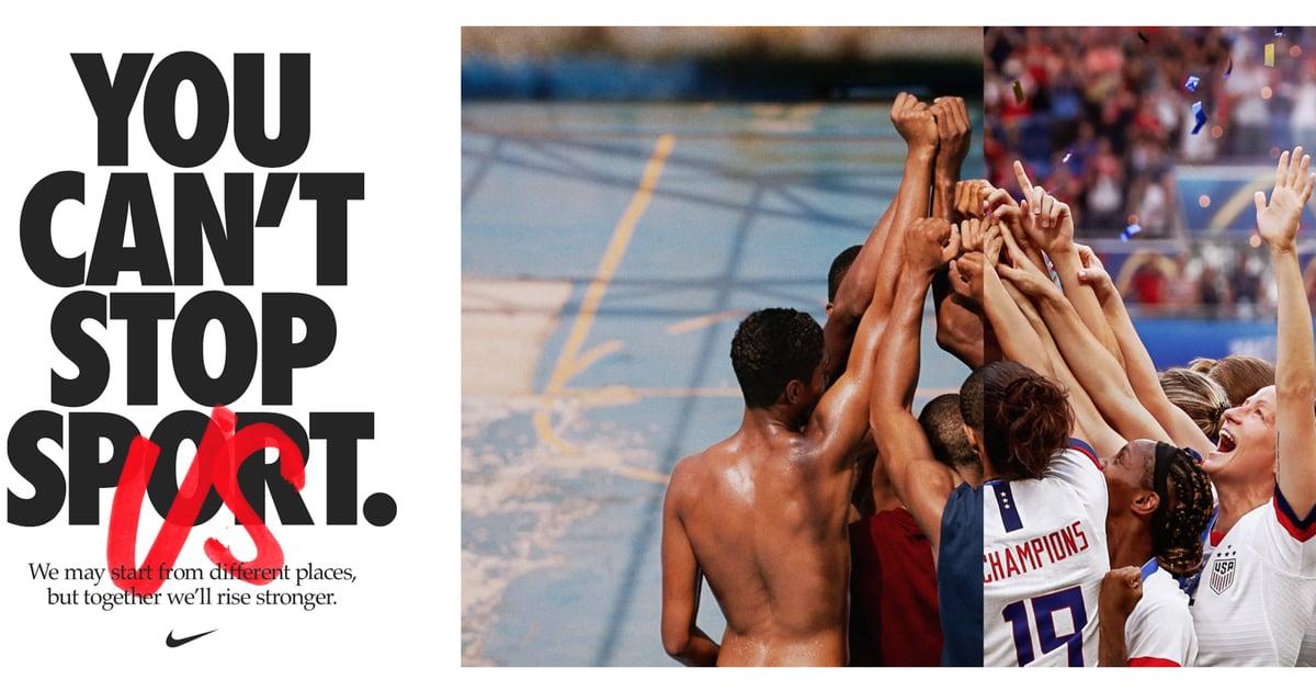 Ninguém consegue parar a Nike Mega Campanha MotivacionalNinguém consegue parar a Nike Mega Campanha Motivacional